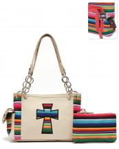 SER28469C(IV)-wholesale-handbag-pouch-bag-set-cross-serape-multicolor-stripe-canvas-fabric-leatherette-concealed(0).jpg