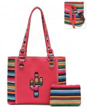 SER5434(COR)-wholesale-handbag-pouch-bag-set-cactus-serape-multicolor-stripe-canvas-fabric-leatherette-concealed(0).jpg