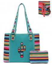 SER5434(TQ)-wholesale-handbag-pouch-bag-set-cactus-serape-multicolor-stripe-canvas-fabric-leatherette-concealed(0).jpg