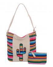SER5435(IV)-wholesale-handbag-pouch-bag-set-cactus-serape-multicolor-stripe-canvas-fabric-leatherette(0).jpg