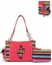 SER8469(COR)-wholesale-handbag-pouch-bag-set-cactus-serape-multicolor-stripe-canvas-fabric-leatherette-concealed(0).jpg