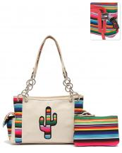 SER8469(IV)-wholesale-handbag-pouch-bag-set-cactus-serape-multicolor-stripe-canvas-fabric-leatherette-concealed(0).jpg