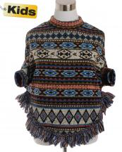 SJB192(BR)-wholesale-poncho-tribal-aztec-fringe-children-kid-one-size-polyester-spandex-warm-put-in-arms-design(0).jpg