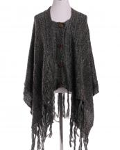 SJP162(BK)-wholesale-poncho-two-tone-embossing-knitted-button-closure-tassel-fringe-one-size-acrylic-(0).jpg