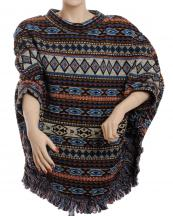 SJP191(BR)-wholesale-poncho-tribal-aztec-fringe-one-size-polyester-spandex-warm-put-in-arms-design(0).jpg