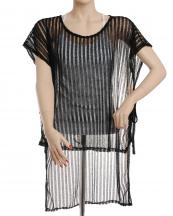 SJP231(BK)-wholesale-poncho-ruana-stripe-mesh-knit-plain-solid-color-armhole-strings-onesize-polyester(0).jpg