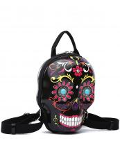 SKSB5618(BK)-wholesale-backpack-sugar-skull-3d-box-shape-floral-turquoise-stone-concho-gemstone-net-pocket(0).jpg