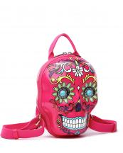 SKSB5618(FU)-wholesale-backpack-sugar-skull-3d-box-shape-floral-turquoise-stone-concho-gemstone-net-pocket(0).jpg