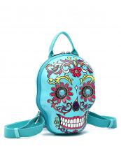 SKSB5618(TQ)-wholesale-backpack-sugar-skull-3d-box-shape-floral-turquoise-stone-concho-gemstone-net-pocket(0).jpg