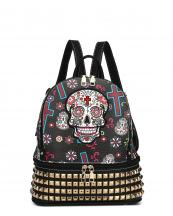 SKU115449L(BKGD)-Size(L)-S06-wholesale-backpack-sugar-skull-floral-cross-multi-color-leatherette-rhinestones-studs-compartment(0).jpg