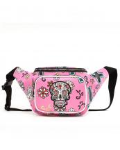 SKU4100(FU)-wholesale-fanny-pack-waist-bag-sugar-skull-cross-floral-multicolor-zipper-pocket-leatherette-buckle(0).jpg