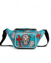 SKU4100(TL)-wholesale-fanny-pack-waist-bag-sugar-skull-cross-floral-multicolor-zipper-pocket-leatherette-buckle(0).jpg