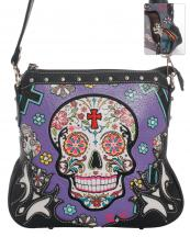 SKU4200(PP)-wholesale-faux-leather-concealed-carry-gun-handbag-studded-western-sugar-skull-floral--(0).jpg