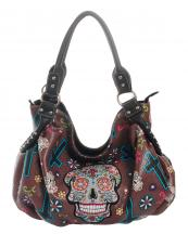 SKU44802(BR)-W41W42-wholesale-faux-leather-concealed-carry-handbag-studded-western-embroidered-sugar-skull-floral--(0).jpg