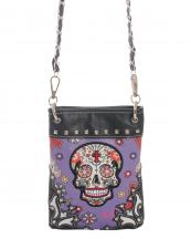 SKU45397(PP)-wholesale-messenger-bag-leatherette-sugar-skull-floral-cross-multicolor-silver-studs-western-various(0).jpg