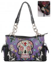 SKU48469(PP)-wholesale-faux-leather-concealed-carry-gun-handbag-studded-western-sugar-skull-floral--(0).jpg