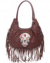 SKU55360F(BR)-wholesale-handbag-faux-leather-leatherette-sugar-skull-fringe-cross-floral-studs-studded-(0).jpg