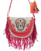 SKU65300F(FU)-wholesale-handbag-leatherette-sugar-skull-fringe-cross-floral-rhinestone-studs-multi-color-snake(0).jpg