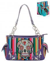 SKU98469(PP)-wholesale-handbag-sugar-skull-multicolor-serape-floral-cross-stripe-studs-rhinestone-concealed-chain(0).jpg