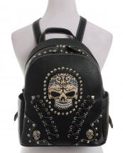 SKW35381(BK)-wholesale-backpack-biker-skull-silver-cone-pyramid-studs-carved-leatherette-stitches-snake-(0).jpg