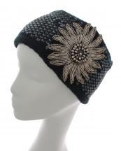 SS0538(BK)-Wholesale-headwrap-elastic-crochet-knit-floral-silver-beads-two-tone-ply-chevron-acrylic(0).jpg