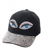 SS0647(BK)-wholesale-baseball-cap-eyes-embroidered-rhinestones-beads-encrusted-black-cotton-adjustable(0).jpg