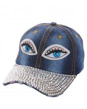SS0647(DDM)-wholesale-baseball-cap-eyes-embroidered-rhinestones-beads-encrusted-black-cotton-adjustable(0).jpg