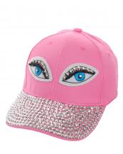 SS0647(PK)-wholesale-baseball-cap-eyes-embroidered-rhinestones-beads-encrusted-black-cotton-adjustable(0).jpg