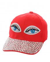 SS0647(RD)-wholesale-baseball-cap-eyes-embroidered-rhinestones-beads-encrusted-black-cotton-adjustable(0).jpg