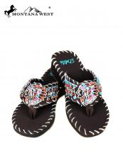 SSS014(CF)-(SET-8PCS)-MW-wholesale-flip-flops-8pc-set-montana-west-delila-embroidered-leather-indian-head-rhinestone-multi(0).jpg