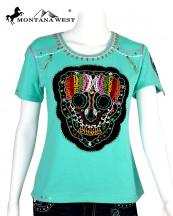 ST608(TQ)-SIZE(S)-MW--wholesale-montana-west-t-shirt-embroidered-sugar-skull-beaded-cotton-spandex-rhinestones(0).jpg