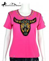 ST609(PK)-SIZE(M)-MW--wholesale-montana-west-t-shirt-embroidered-bull-skull-beaded-cotton-spandex-rhinestones(0).jpg