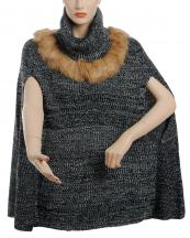 SWC1220(BK)-wholesale-cape-poncho-faux-fur-turtleneck-two-tone-knitted-one-size-acrylic(0).jpg