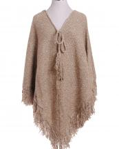 SWP1243(BG)-wholesale-poncho-heather-knit-two-tone-fringe-strings-one-size-acrylic-ribbon(0).jpg