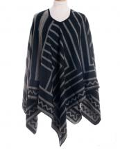 SWP787(BK)-wholesale-knit-mesh-acrylic-poncho-ruana-wrap-striped-chevron-(0).jpg