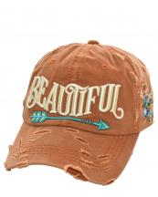 T13BEA01(TOG)-wholesale-cap-beautiful-arrow-life-floral-emboss-embroidered-multicolor-vintage-torn-baseball-cotton(0).jpg