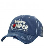 T13CAM02(NV)-W91-wholesale-cap-happy-camper-camp-fire-arrow-tent-embroidered-vintage-torn-stitch-baseball-cotton(0).jpg