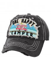 T13CAM11(BK)-wholesale-cap-happy-camper-camp-trailer-mountain-tree-embroidery-vintage-torn-stitch-baseball-cotton(0).jpg