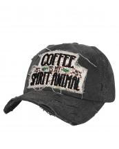 T13COF03(BK)-wholesale-cap-coffee-is-my-spirit-animal-cup-bean-embroidered-baseball-vintage-torn-stitch-cotton(0).jpg