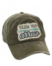 T13FLW01(OV)-wholesale-baseball-cap-follow-your-arrow-embroidered-vintage-torn-cotton-hook-loop-closure(0).jpg