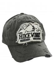 T13HIK02(BK)-wholesale-cap-hike-more-worry-less-emboss-mountains-sun-embroidered-vintage-torn-baseball-cotton(0).jpg