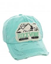 T13HIK02(MT)-wholesale-cap-hike-more-worry-less-emboss-mountains-sun-embroidered-vintage-torn-baseball-cotton(0).jpg