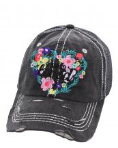 T13LOV02(BK)-wholesale-cap-i-loved-floral-mesh-trucker-baseball-embroidered-vintage-torn-stitch-cotton-polyester(0).jpg