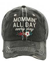 T13MOM01(BK)-W05-wholesale-baseball-cap-mommin-all-day-every-floral-multi-color-embroidered-vintage-torn-cotton(0).jpg