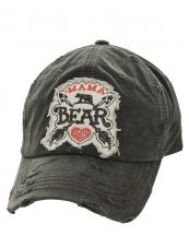 T13MOM03(BK)-wholesale-baseball-cap-mama-bear-cross-arrows-heart-embroidered--vintage-torn-cotton-(0).jpg