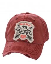 T13MOM03(BUR)-wholesale-baseball-cap-mama-bear-cross-arrows-heart-embroidered--vintage-torn-cotton-(0).jpg