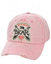 T13MOM03(PK)-wholesale-baseball-cap-mama-bear-cross-arrows-heart-embroidered--vintage-torn-cotton-(0).jpg