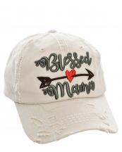 T13MOM05(ST)-wholesale-cap-bless-mama-arrow-heart-emboss-embroidered-multi-color-vintage-torn-baseball-cotton(0).jpg
