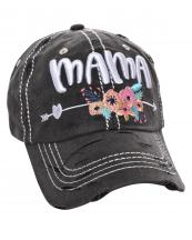 T13MOM15(BK)-wholesale-cap-mama-floral-arrow-heart-multi-color-baseball-embroidered-vintage-torn-stitch-cotton(0).jpg
