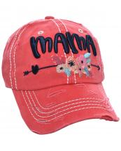 T13MOM15(COR)-wholesale-cap-mama-floral-arrow-heart-multi-color-baseball-embroidered-vintage-torn-stitch-cotton(0).jpg